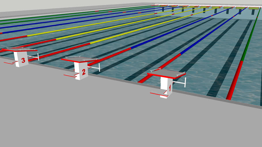 Olympic Sized Swimming Pool 3d Warehouse