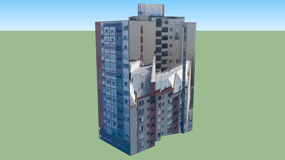 Building in Porto Alegre - Rio Grande do Sul, Brazil