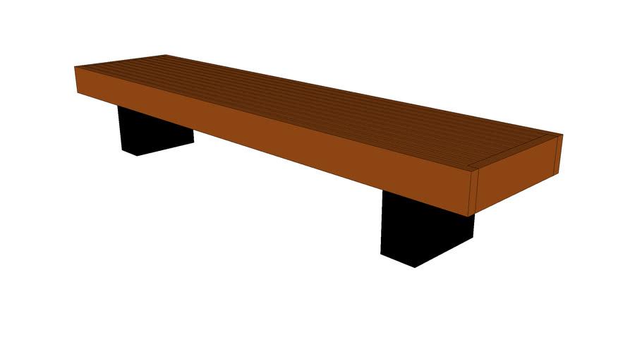 "Shadowline 96"" Bench"