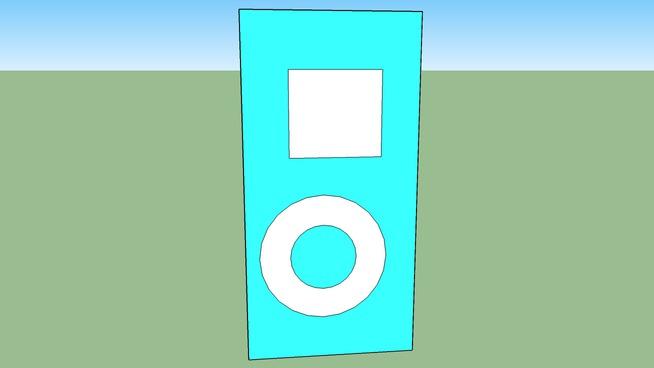 ice blue I-pod nano
