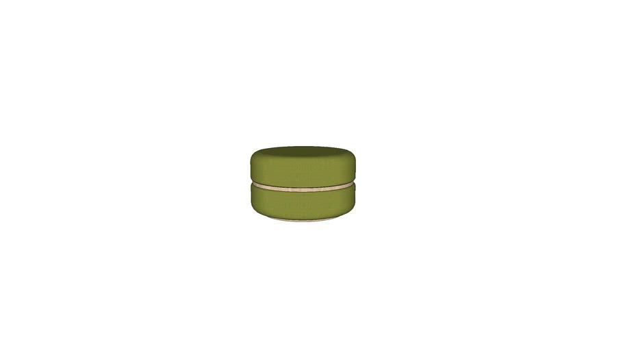 [Macaron] Ottoman(M)-Ash (Green)