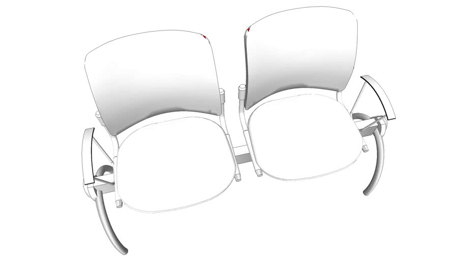 SDI - Duplex Waiting Room Chairs