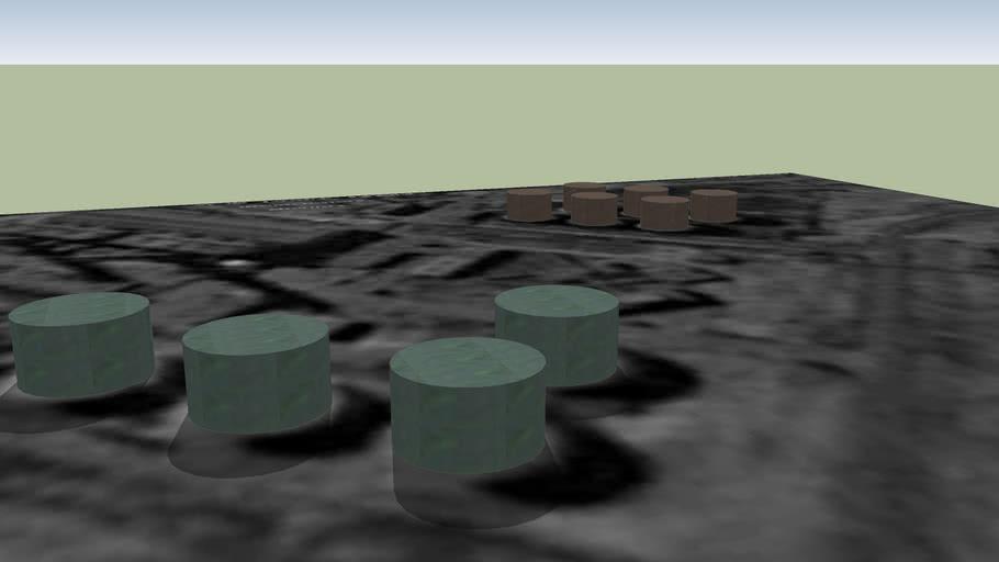 Oil tanks, Misrata
