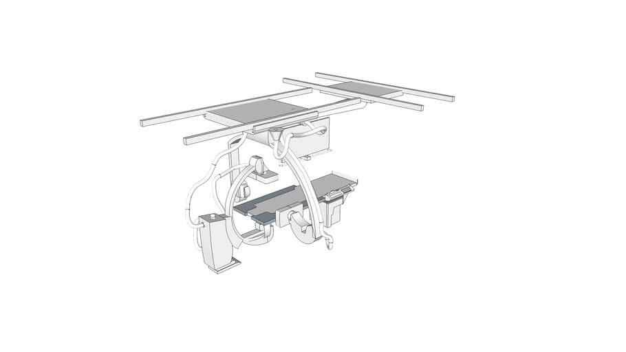 X6175 - Radiographic_Fluoro Unit, Angio, Biplane, Digital