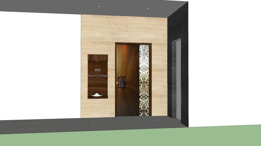 Modern Main Door 3d Warehouse