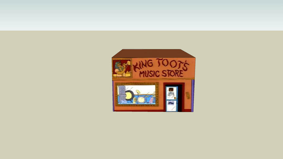 King Toot's Music Store [aus simpsons]