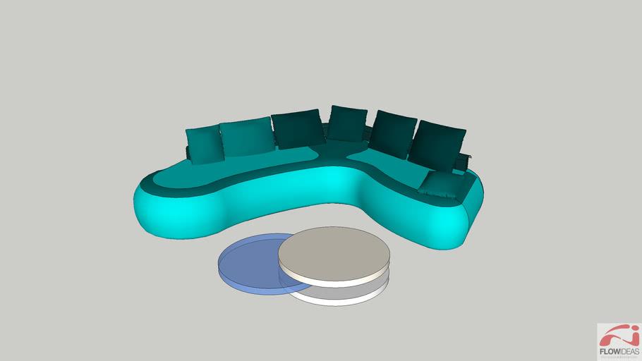 Sofa fluid