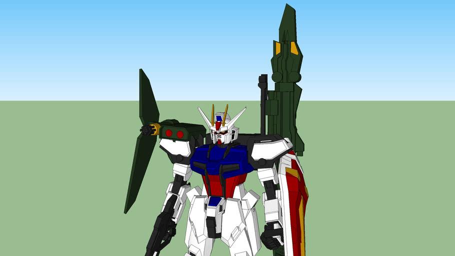 Launcher Strike Gundam