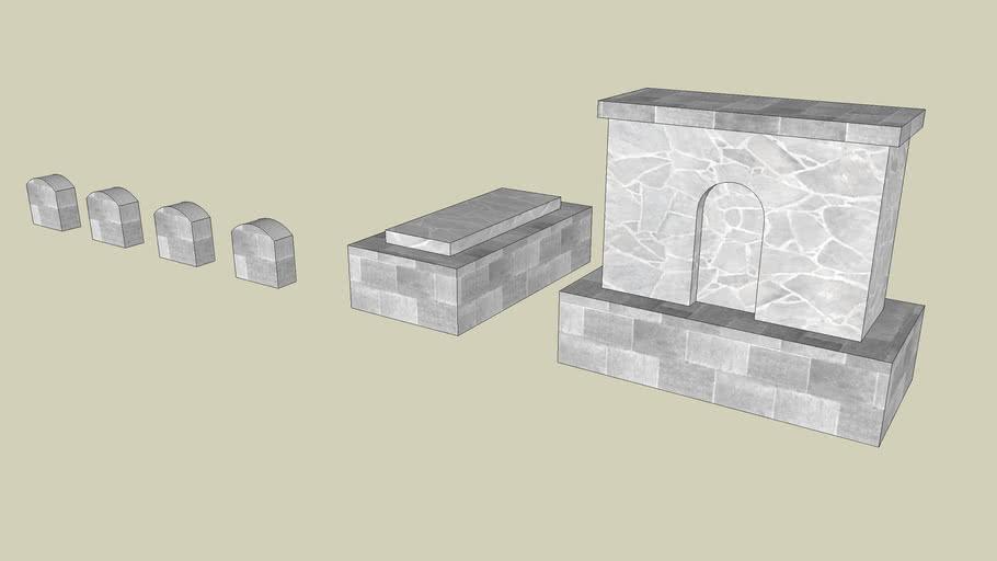 Instant City: Grave Stones
