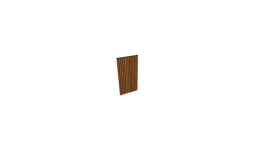 Wallure Ribbed wall panel