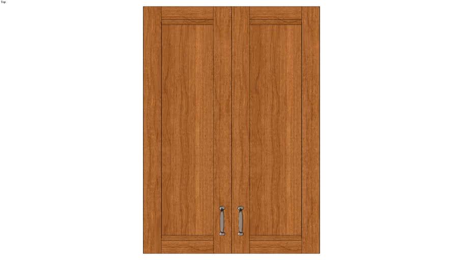 Wall Double Door 42Hx15D