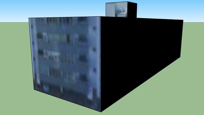 巴西利亚 - 聯邦區巴西的建筑模型26