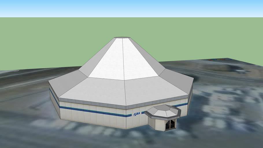 種子島宇宙センター大型ロケット発射管制棟(B/H)