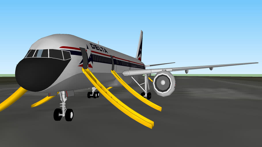 Delta flight 283: Bat Strike (fictional)