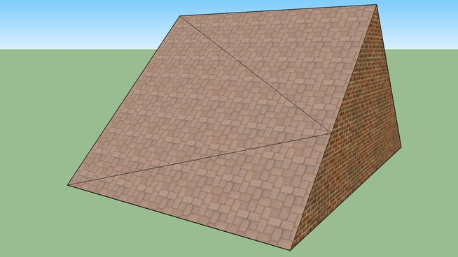 a roof simple end easy