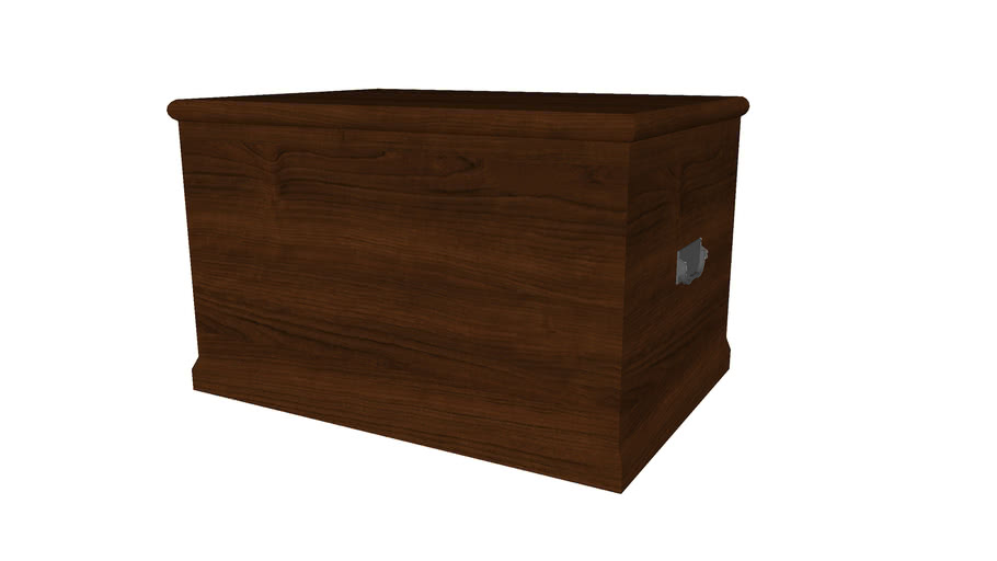 Storage Chest with Handles - Detailed