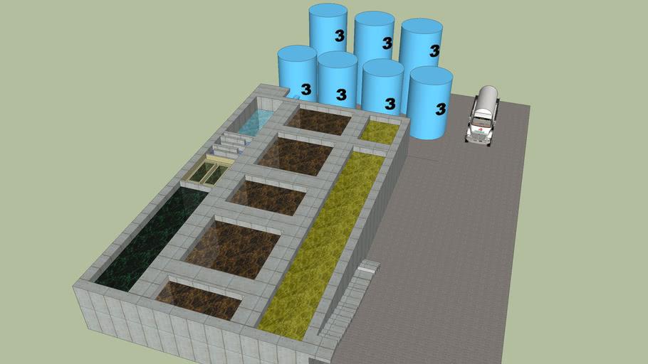 Planta de tratamiento de aguas el rosario by Alvaro Villagomez