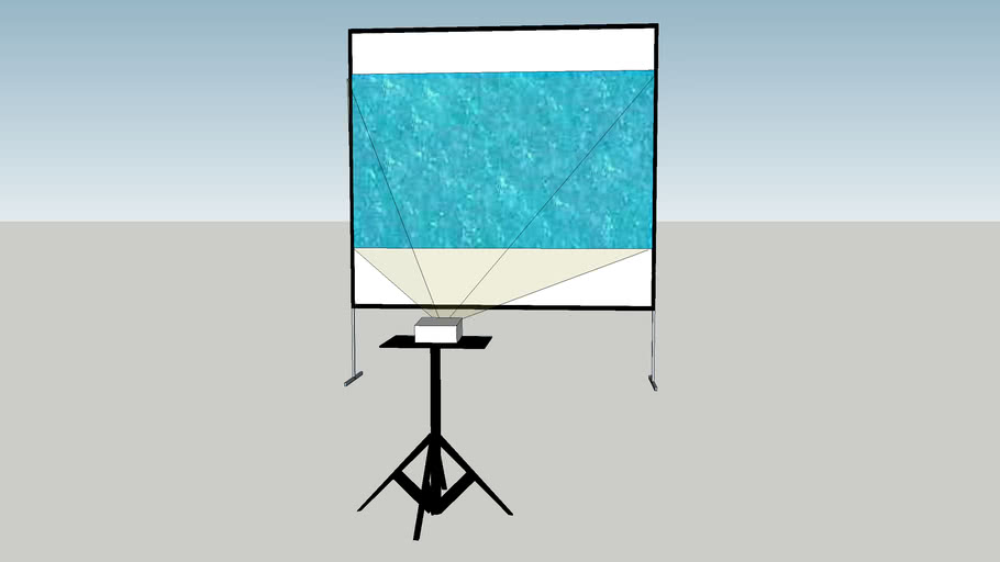 10ft x 10ft Aluminum Frame Projection Screen