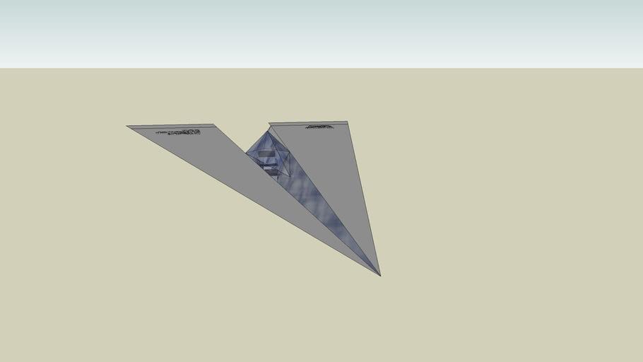Home Made Paper Air Plane