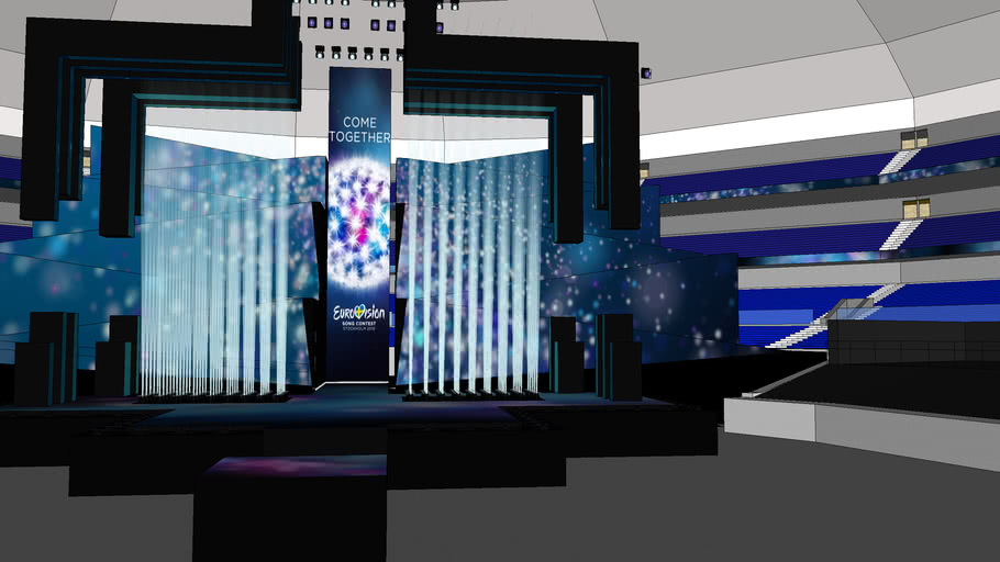 Eurovision 2016 Stage In Arena