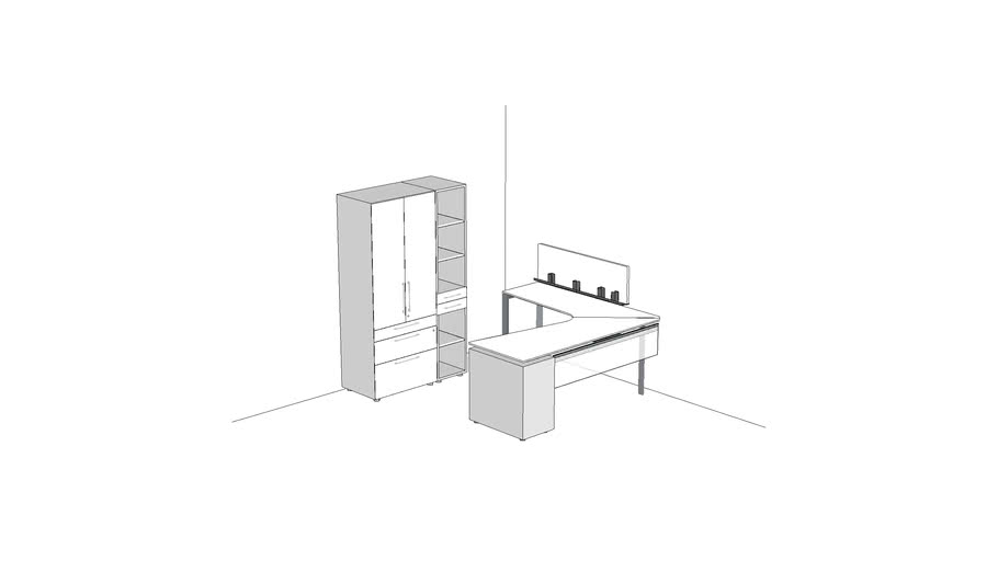 Watson Miro Private Office 8' x 10' #PRVMI020