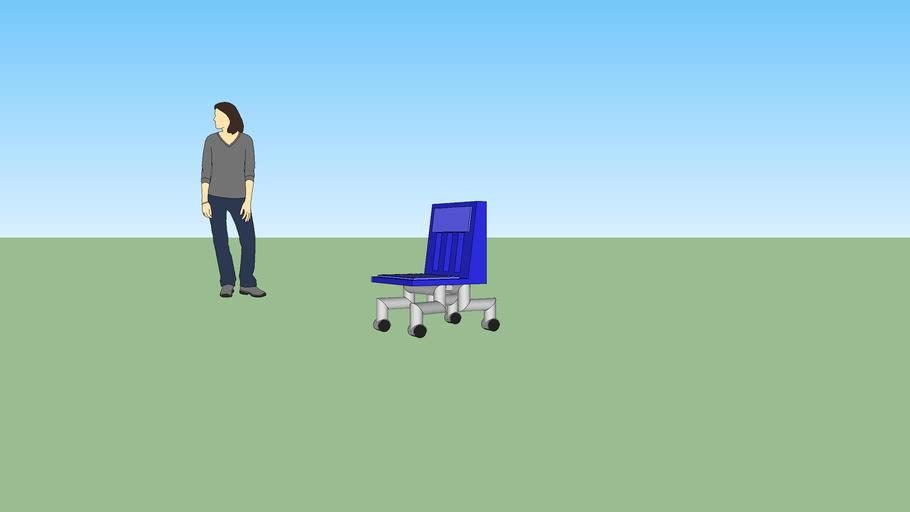 Wheely Chair