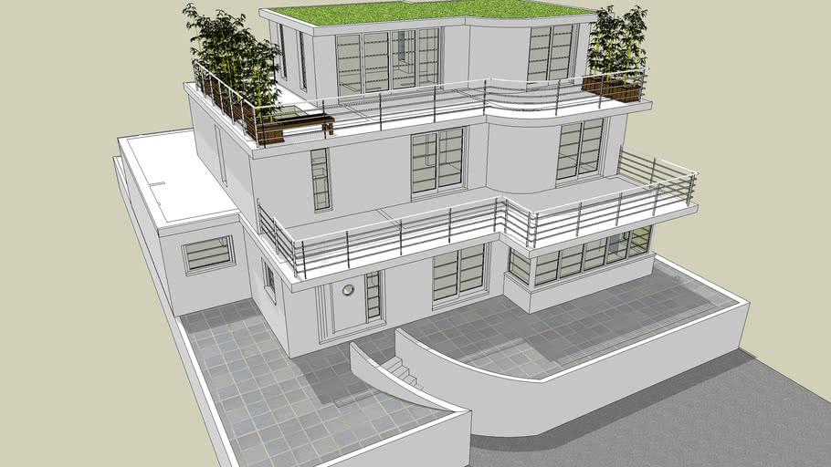 Art Deco House 3d Warehouse