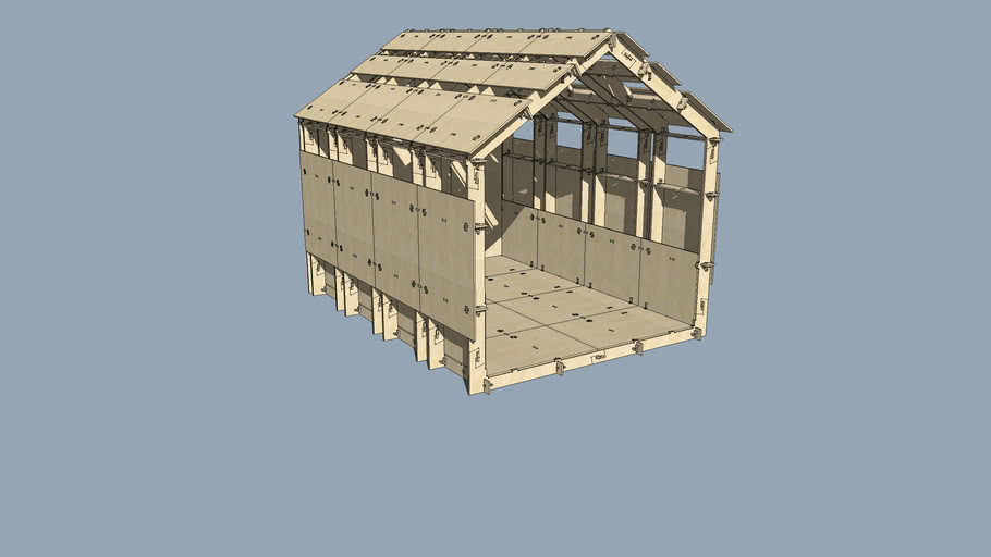 WikiHouse Pavilion 1