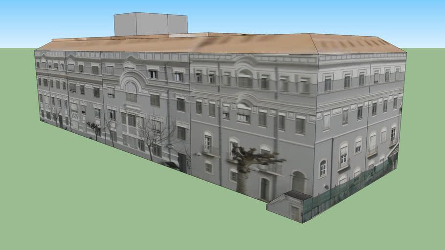 Edifício Principal - Colégio do Sagrado Coração de Maria em Lisboa