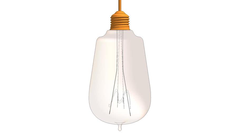 HORN GLASS PENDANT LAMP