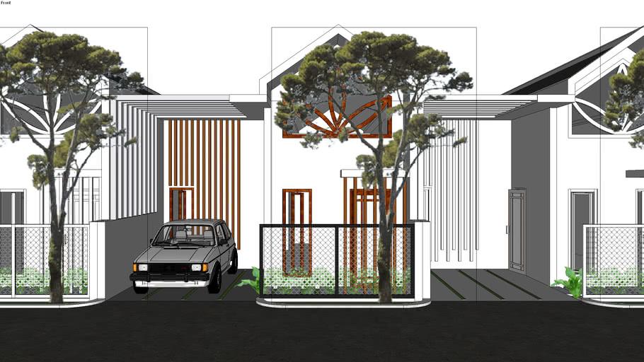 Rumah Minimalis Lahan 6m x 10m