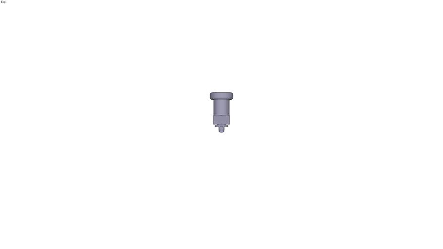 Vis d'indexage pour pièces de faible...(croquis 1) d1= 6 mm l2= 8.5 mm s= 1 mm