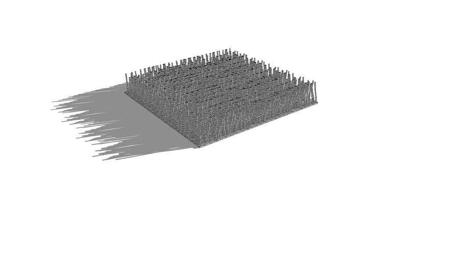 Фрагмент ковра с ворсом 500х500