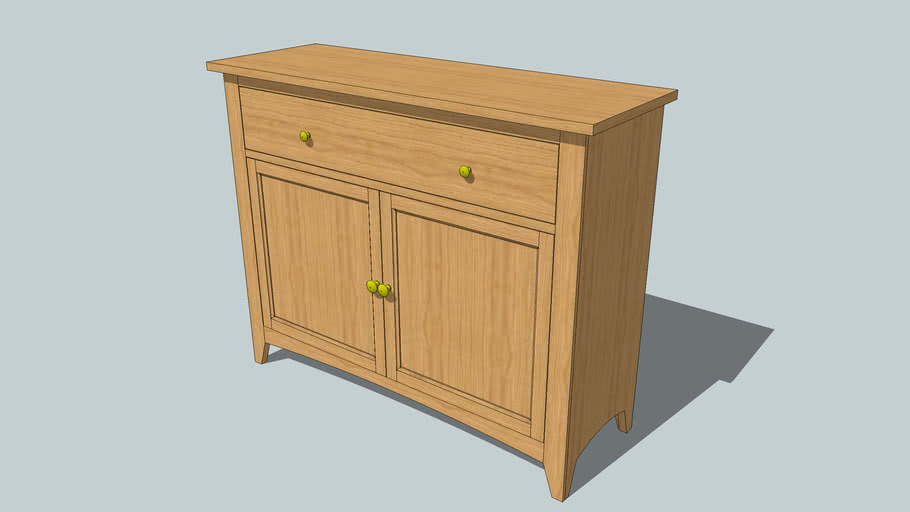 Shaker Stylized Cabinet