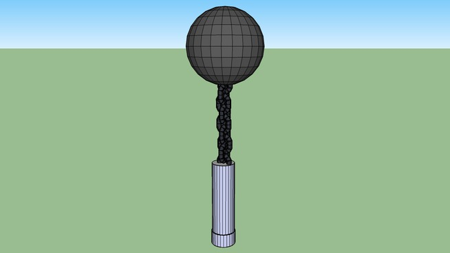 Ball on a stick