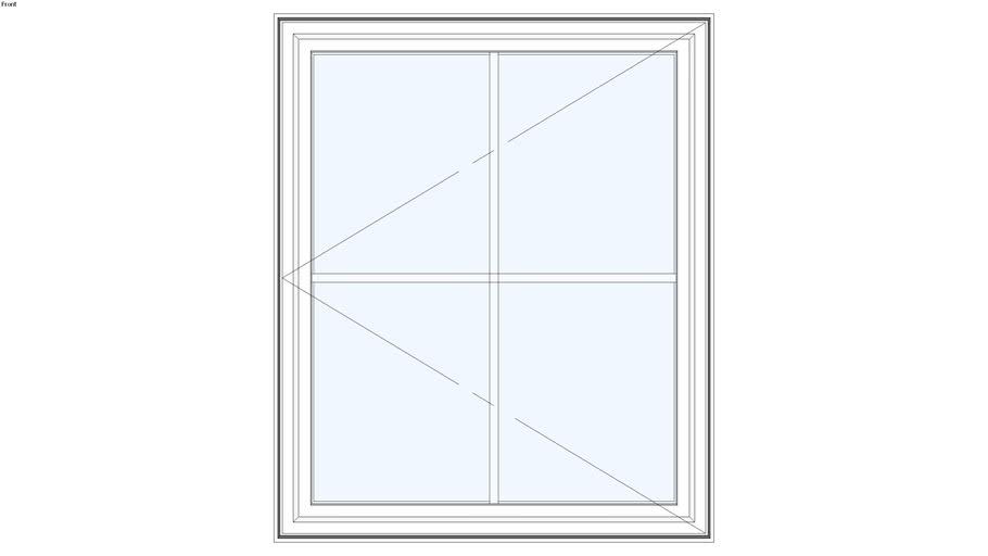 Standard Aluminum Series Casement Window