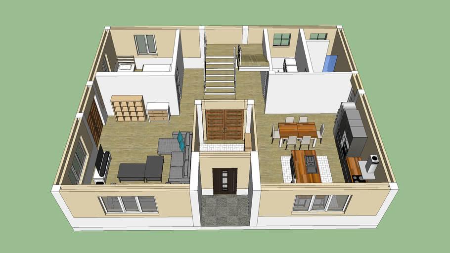 My dream house, first floor