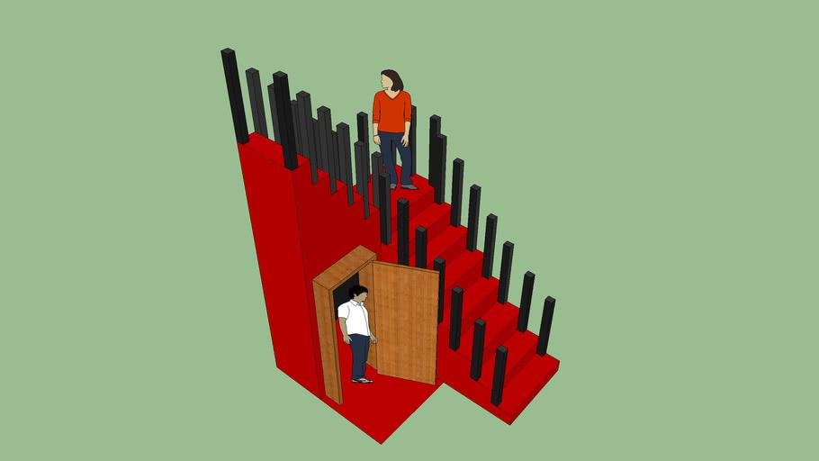 tangga buatan azmi