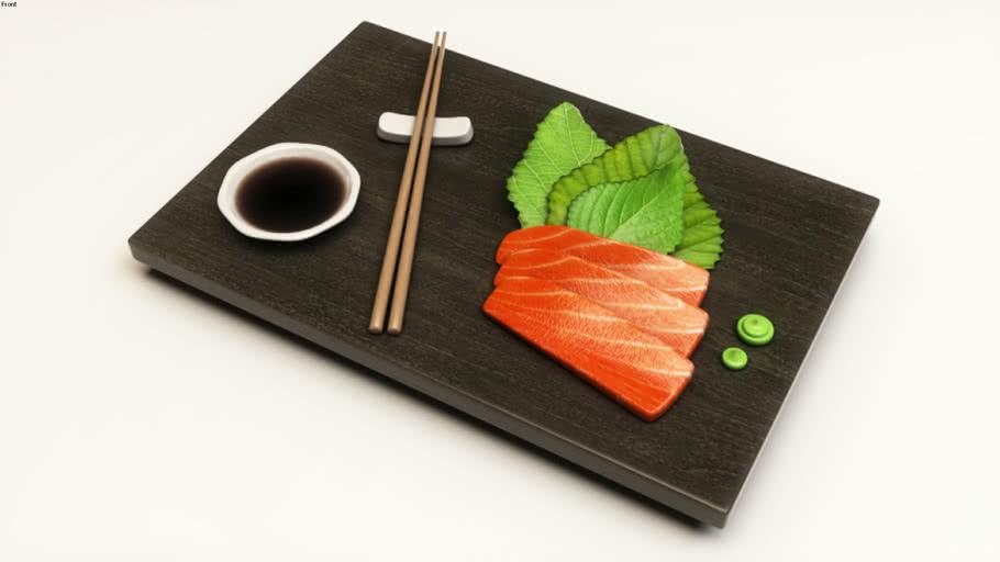 Salmon Sashimi Set