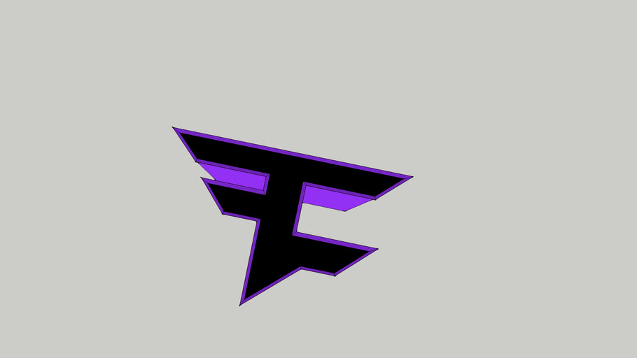 FaZe Clan LOGO Purple