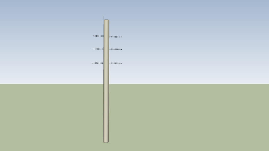 Another concrete pole