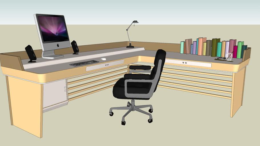 Home Office Desk (Furnitured)