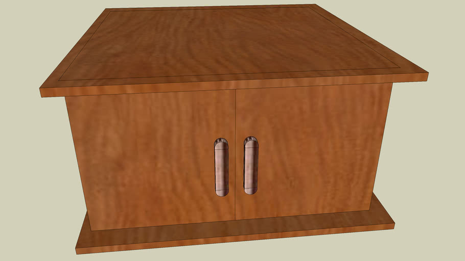 Cherry Wood Fat Endtable