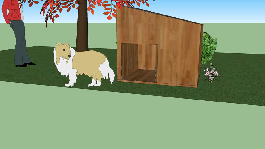 Doghouse (with flowers . . . >.>