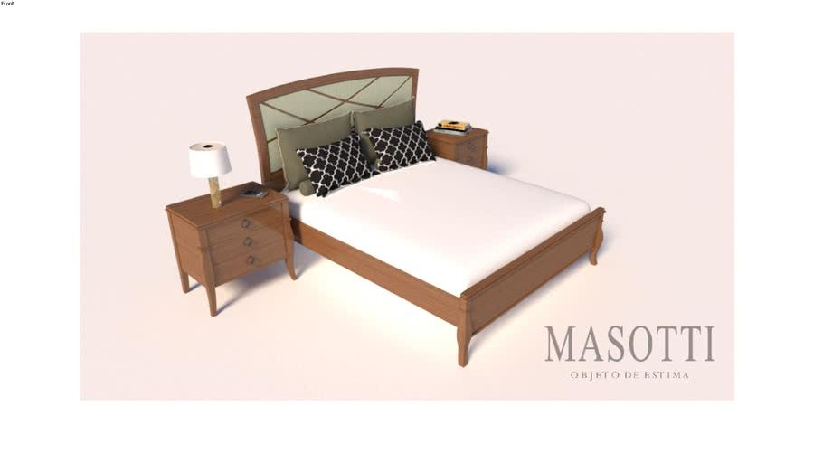Mesa de Cabeceira Coleção Masotti MAS.381.1 F15