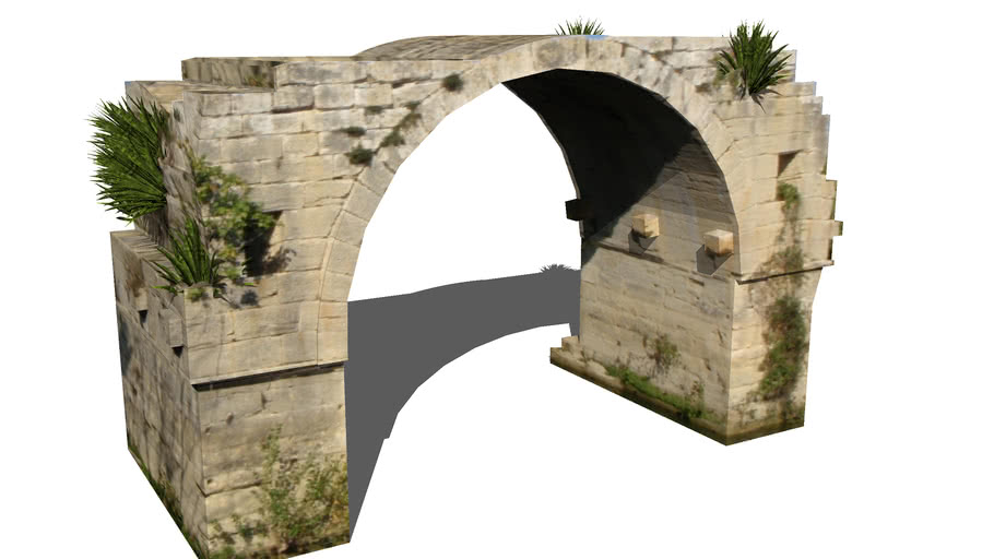 Pont romain d'Ambrussum - Villetelle
