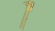 retractable ladder
