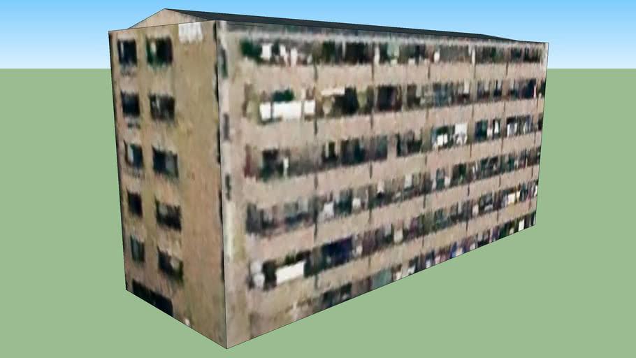 Building in Sendai City, Miyagi Prefecture, Japan