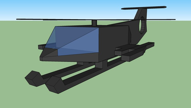 RAH-77 Starliasys helicopter model