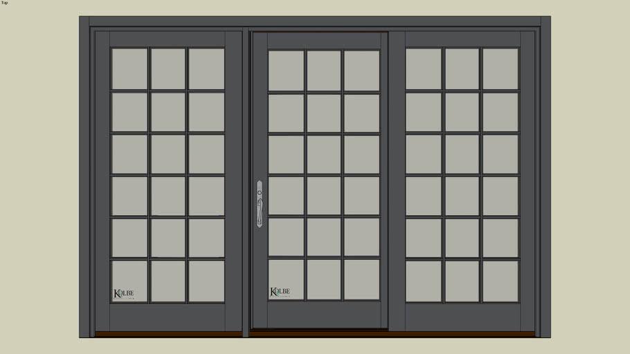 "Kolbe Ultra Garden-Aire Paio Door GAU10068 (F.S. 9'-11 1/2""x 6'-10 7/16"" R.O. 10'-0"" x 6'-10 15/16"")"